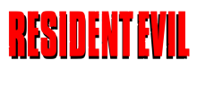 Download Resident Evil 1 Logo PS Vita Wallpaper