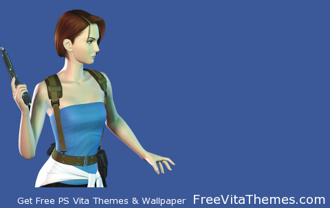 Rsident Evil 3 Nemesis Jill PS Vita Wallpaper