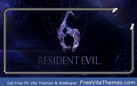 Resident Evil 6 Lockscreen PS Vita Wallpaper