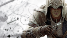 Download Assassin's Creed 3 Connor PS Vita Wallpaper