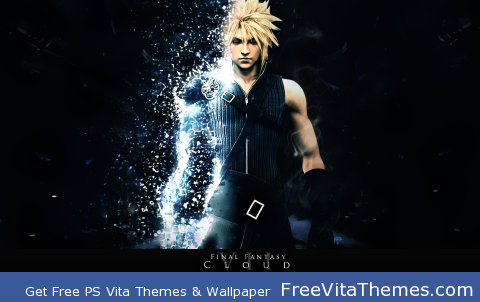 Final Fantasy VII – Cloud PS Vita Wallpaper