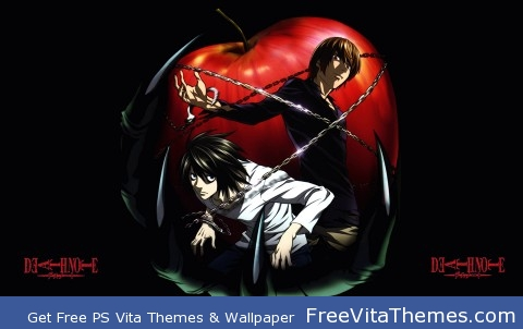 Death Note PS Vita Wallpaper