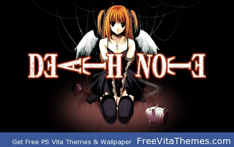 Death Note PS Vita Wallpaper