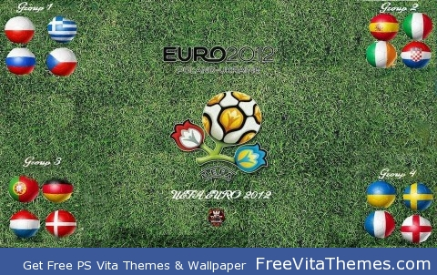 Euro Cup 2012 PS Vita Wallpaper