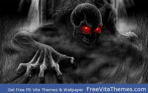 skelleton PS Vita Wallpaper
