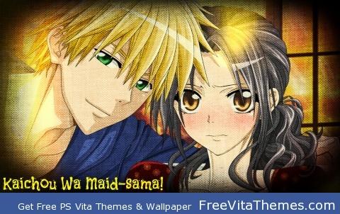 Kaichou Wa Maid-sama! PS Vita Wallpaper
