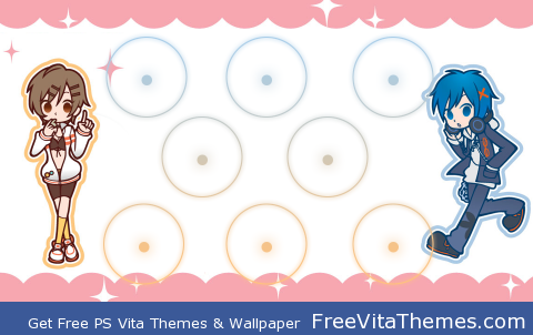 Meiko and Kaito PS Vita Wallpaper