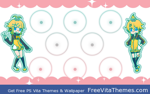 Rin and Len PS Vita Wallpaper
