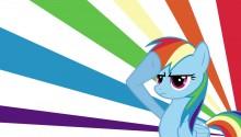 Download Rainbow PS Vita Wallpaper