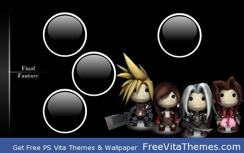 LBP Final Fantasy PS Vita Wallpaper