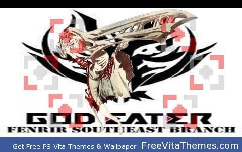 Gods Eater Burst Shio PS Vita Wallpaper