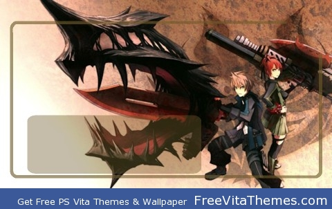 Gods Eater Burst PS Vita Wallpaper
