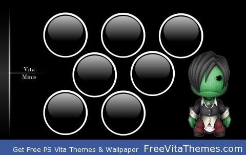 LBP Minis PS Vita Wallpaper