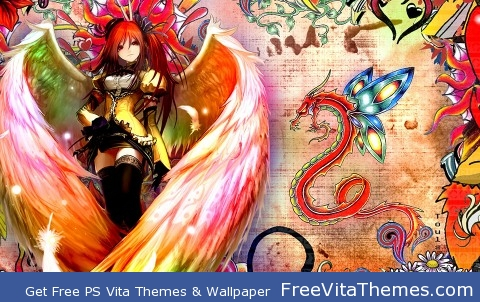 Angel 3 PS Vita Wallpaper