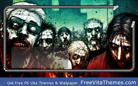 Zombies PS Vita Wallpaper