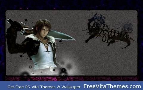 Squall Dissidia PS Vita Wallpaper
