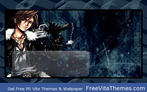 Squall Anime PS Vita Wallpaper
