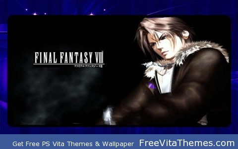 FFVIII Squall PS Vita Wallpaper