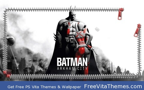 Batman Arkham City Lockscreen PS Vita Wallpaper