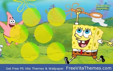 Spongebob Squarepants PS Vita Wallpaper