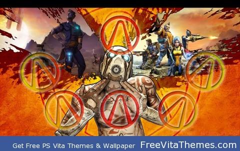 Borderlands 2 PS Vita Wallpaper