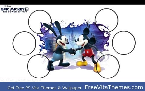 Epic Mickey 2 Wallpaper PS Vita Wallpaper