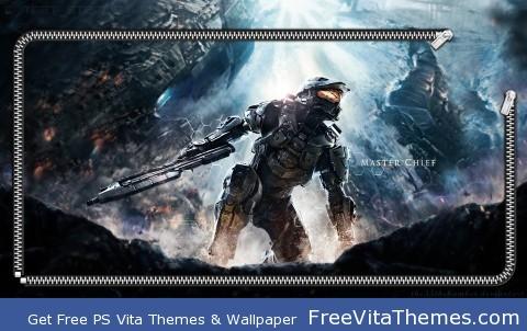 Halo 4 Lockscreen PS Vita Wallpaper