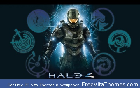 Halo 4 Wallpaper PS Vita Wallpaper