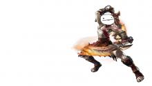 Download Kratos Derp PS Vita Wallpaper