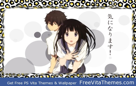 Hyouka 2 PS Vita Wallpaper