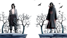 Download Itachi & Sasuke Transparent Wallpaper PS Vita Wallpaper