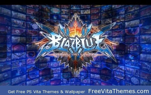 Blazeblue Chorno Phantasma PS Vita Wallpaper
