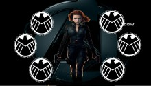 Download Black Widow 1 PS Vita Wallpaper
