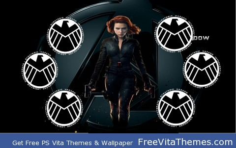 Black Widow 1 PS Vita Wallpaper