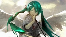 Download Angel Miku 2 PS Vita Wallpaper