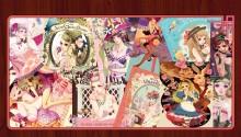 Download Manga Girls Illustrations PS Vita Wallpaper