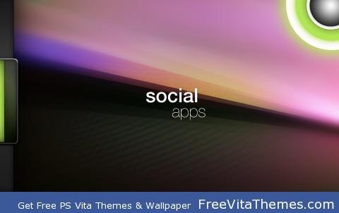 Social Apps PS Vita Wallpaper
