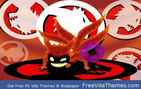 Chibi Four Tails PS Vita Wallpaper