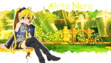 Download Akita Neru PS Vita Wallpaper