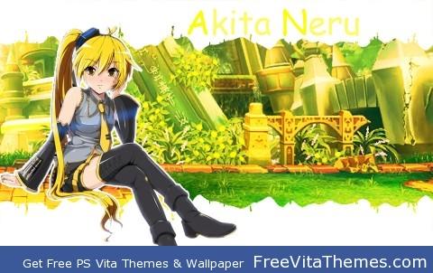 Akita Neru PS Vita Wallpaper