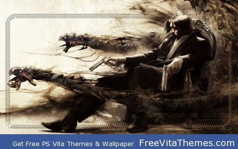 The Darkness II PS Vita Wallpaper