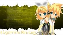 Download Kagamine Rin Len v2 PS Vita Wallpaper