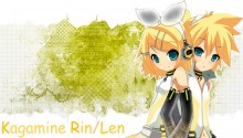Download Kagamine Rin Len v3 PS Vita Wallpaper