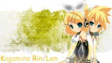 Download Kagamine Rin Len v3 PS Vita Wallpaper