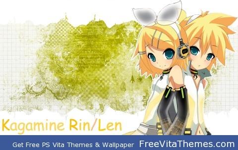 Kagamine Rin Len v3 PS Vita Wallpaper