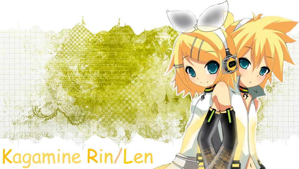 Kagamine Rin Len v3 PS Vita Wallpapers - Free PS Vita