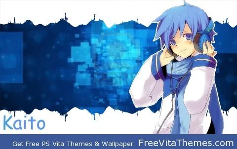 Kaito v3 PS Vita Wallpaper
