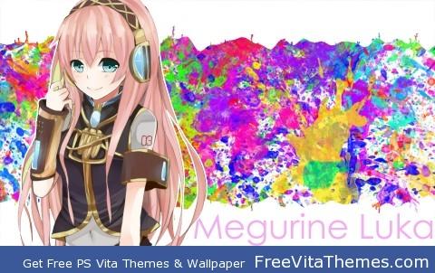 Megurine Luka PS Vita Wallpaper