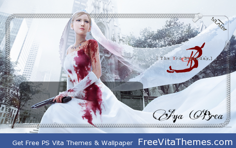 The 3rd Birthday – Parasite Eve PS Vita Wallpaper