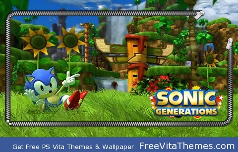 Sonic Generations PS Vita PS Vita Wallpaper